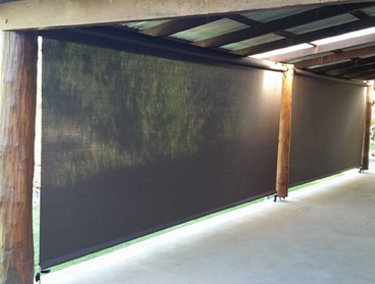 Straight Drop Awnings Wagga Blinds Roller Shutters